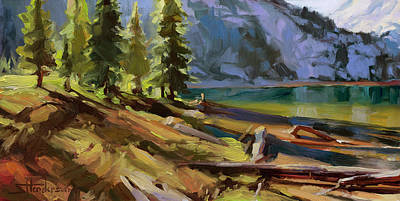 Royalty-Free and Rights-Managed Images - Morning Sun Salutation by Steve Henderson