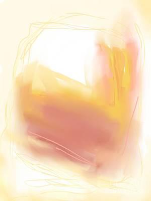 Mixed Media Royalty Free Images - Morning Sunlight Abstract Royalty-Free Image by Sarah Niebank