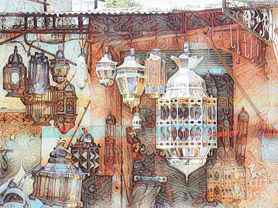 Hollywood Style - Moroccan lanterns by Brian Tarr