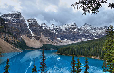 Photograph - Morraine Lake by Michelle Lee