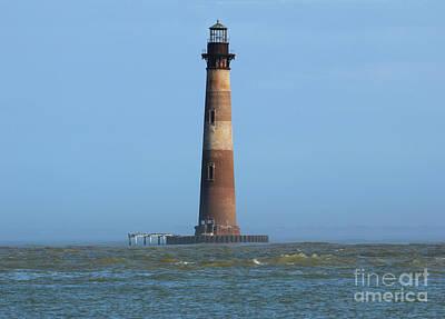 Vincent Van Gogh - Morris Island Lighthouse 5020 by Jack Schultz