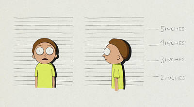 Royalty-Free and Rights-Managed Images - Morty Mugshot by Samuel Whitton