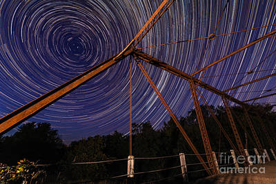 Photograph - Mosquito Creek Star Trails by Willard Sharp