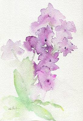 Painting - Moth Orchids by Andrea Rubinstein