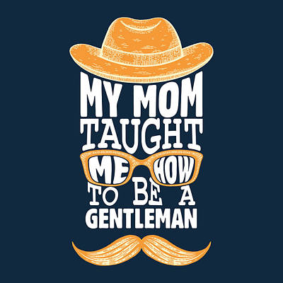 Irish Leprechauns - Mother Day Typography by Celestial Images