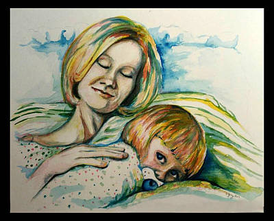 Painting - Mother Love by Heather Young