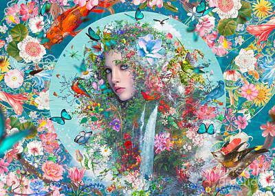 Digital Art - Mother Nature by MGL Meiklejohn Graphics Licensing