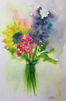 Impressionist Landscapes - Mothers Day Bouquet by Christine Marie Rose