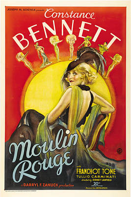 Royalty-Free and Rights-Managed Images - Moulin Rouge, 1934 by Stars on Art