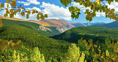 Photograph - Mount Evans Scenic Byway, Fall by John Morris