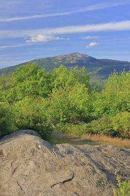 Vintage Movie Stars - Mount Monadnock from Gap Mountain by John Burk