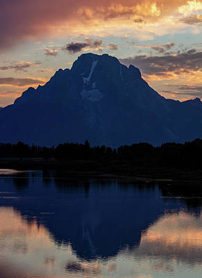 Nirvana - Mount Moran Sunset 2 by Michael Chatt