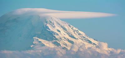 Staff Picks Judy Bernier - Mount Rainier from Seattle by Marv Vandehey