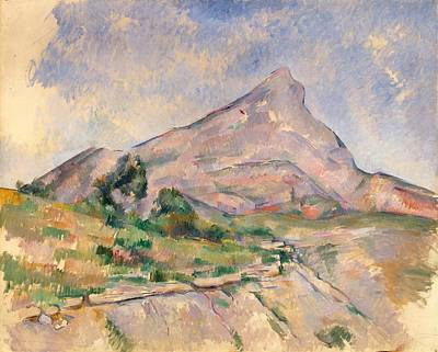 Sean Rights Managed Images - Mount Sainte Victoire France Royalty-Free Image by Artistic Panda