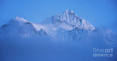 Royalty-Free and Rights-Managed Images - Mount Shuksan in the Clouds by Mike Reid