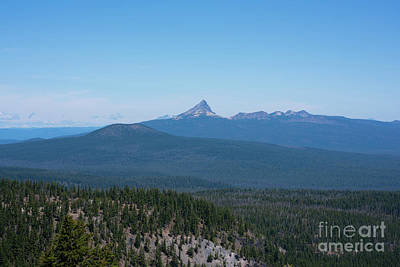 Royalty-Free and Rights-Managed Images - Mount Thielsen, Oregon by Michael Ver Sprill