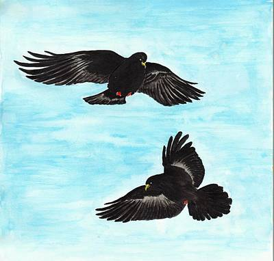 Music Figurative Potraits - Mountain Birds by Yong-Shing Sin