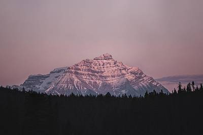 Royalty-Free and Rights-Managed Images - Mountain in Jasper - snow covered mountain during daytime - Jasper, AB, Canada by Julien