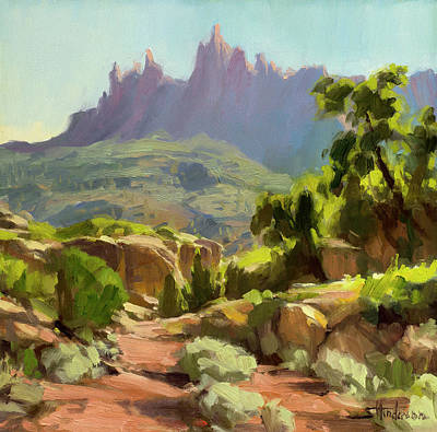 Scifi Portrait Collection - Mountain of Spires by Steve Henderson