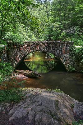 Classic Golf - Mountain Stone Bridge by Carol Montoya