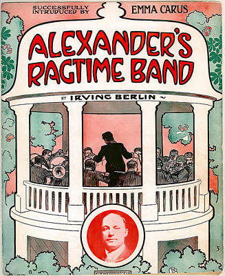 Open Impressionism California Desert Royalty Free Images - Movie poster Alexanders Ragtime Band, 1938 Royalty-Free Image by Stars on Art