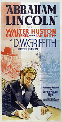 Royalty-Free and Rights-Managed Images - Abraham Lincoln with Walter Huston, 1930 by Stars on Art