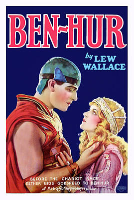Open Impressionism California Desert Royalty Free Images - Movie poster for Ben Hur, 1925 Royalty-Free Image by Stars on Art