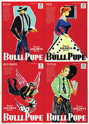 Pasta Al Dente Royalty Free Images - Movie poster for Guys and Dolls, 1955 Royalty-Free Image by Stars on Art