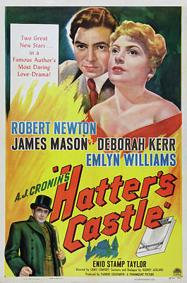 Bringing The Outdoors In - Movie poster for Hatters Castle, with James Mason, 1942 by Stars on Art