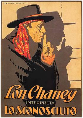 Open Impressionism California Desert Royalty Free Images - Movie poster for The Unknown, with Lon Chaney, 1927 Royalty-Free Image by Stars on Art