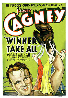 Pasta Al Dente Royalty Free Images - Movie poster for Winner Take All, with James Cagney, 1932 Royalty-Free Image by Stars on Art