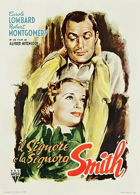 Royalty-Free and Rights-Managed Images - Mr. and Mrs. Smith, 1941 by Stars on Art