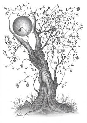 Painting - Mr. Apple Tree by Philippe Fernandez