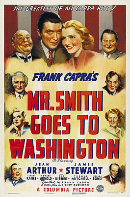 Royalty-Free and Rights-Managed Images - Mr. Smith Goes to Washington, 1939 by Stars on Art