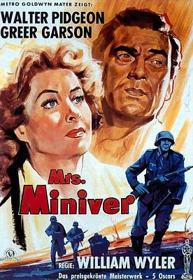 Royalty-Free and Rights-Managed Images - Mrs. Miniver, 1942 - b by Stars on Art