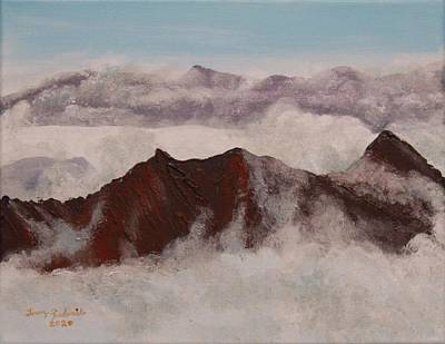 Painting - Mt. Hinman by Terry Frederick
