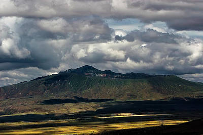 Photograph - Mt. Longonot by Mike Gaudaur