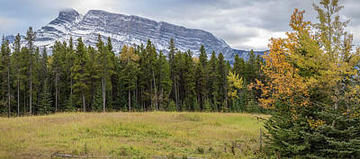 Photograph - Mt. Rundle by Jennifer Grover