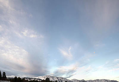 Anne Geddes Collection - Mt. Tallac morning twilight, El Dorado National Forest, California, U. S. A. by PROMedias
