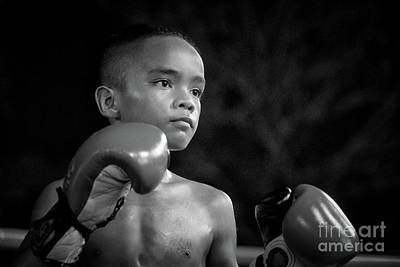 Lee Craker Royalty-Free and Rights-Managed Images - Muay Thai 202005088  by Lee Craker