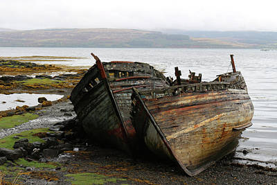 Photograph - Mull Boats by Kathy Chung