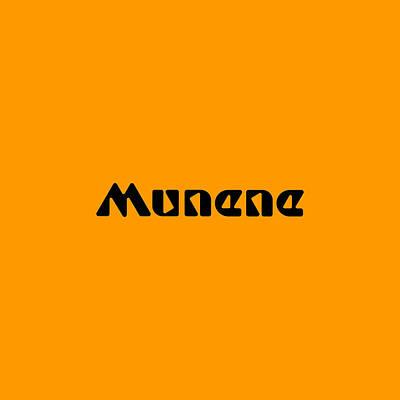 Digital Art - Munene by TintoDesigns