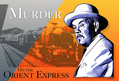 Royalty-Free and Rights-Managed Images - Murder On the Orient by Greg Joens