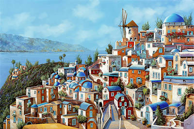Royalty-Free and Rights-Managed Images - Muri Rossi In Grecia by Guido Borelli
