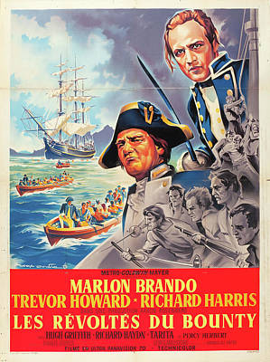 Royalty-Free and Rights-Managed Images - Mutiny on the Bounty, with Marlon Brando, 1962 by Stars on Art