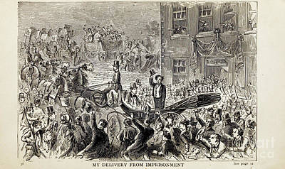 Drawings Royalty Free Images - MY DELIVERY FROM IMPRISONMENT i Royalty-Free Image by Historic illustrations