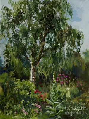 Painting - My English Country Garden by Kathryn Dalziel