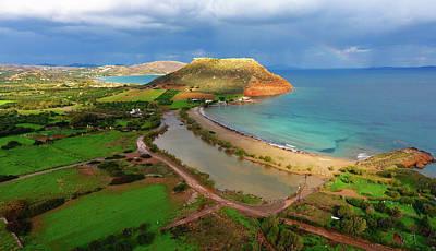 Photograph - My home land by Manolis Tsantakis