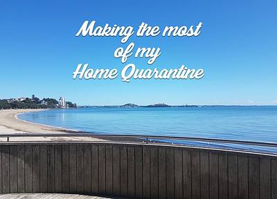 Digital Art - My home quarantine by Clive Littin