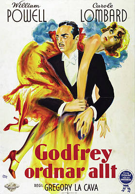 Royalty-Free and Rights-Managed Images - My Man Godfrey, 1936 -c by Stars on Art